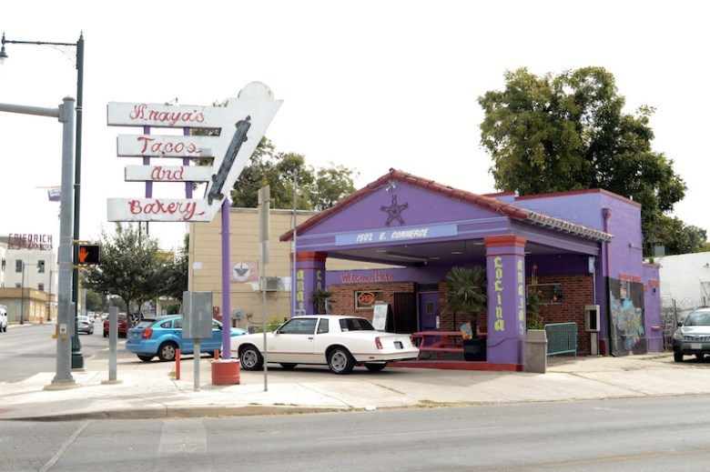 Amaya's Cocina, located at 1502 E Commerce. Photo by Lea Thompson.