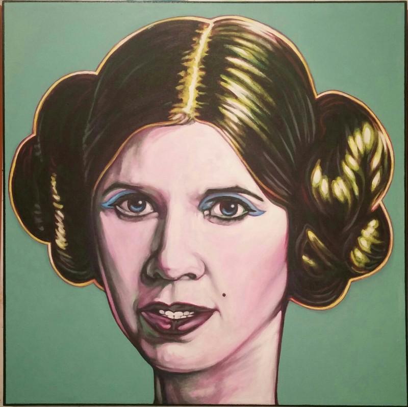 David Blancas' Princess Leia, 2015.
