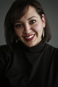 San Antonio Poet Laureate Laurie Ann Guerrero. Photo by Josh Huskin, courtesy of PechaKucha San Antonio.