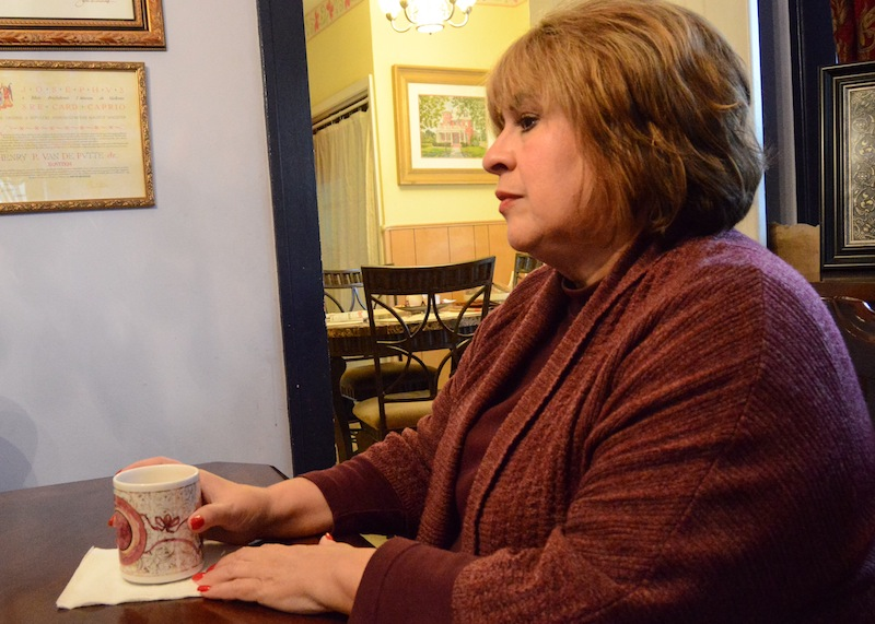 Former state Sen. Leticia Van de Putte mourns the loss of her grandson, Rex. Photo by Lea Thompson.