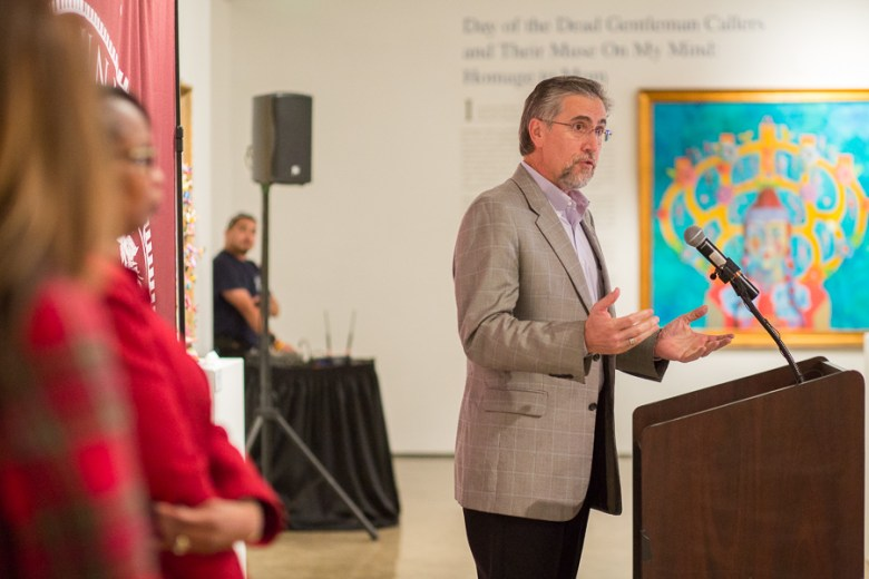 Centro President and CEO Pat DiGiovanni hosts the event. Photo by Scott Ball.