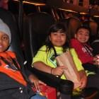 The Alamo Drafthouse provided free popcorn. Photo by Abbey Francis.