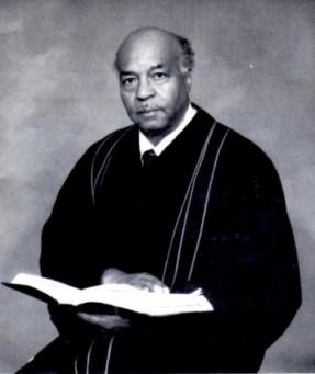 "Reverend Loyace Fredrick ""L.F."" Lacy. Image courtesy of the Logan Family."
