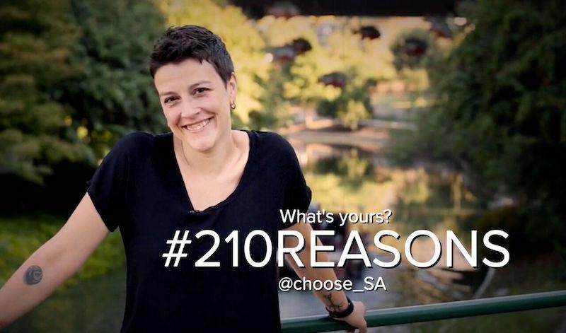 Molly Cox, President & CEO of SA2020. Screenshot from Choose SA Video.