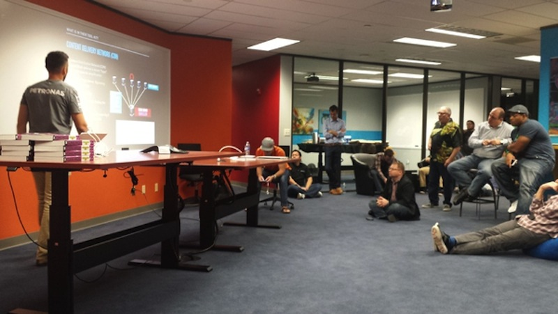 Cybersecurity experts and novices are welcome to the CyberDEF Dojo meetups. Photo courtesy of CyberDEF Dojo.