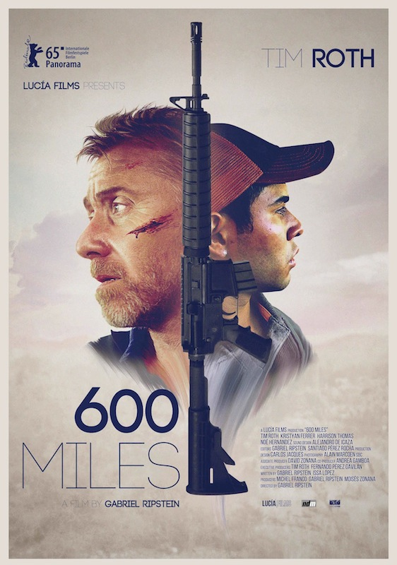 """Tim Roth and Kristyan Ferrer star in """"600 Miles"""" (2015). Directed by Gabriel Ripstein."""