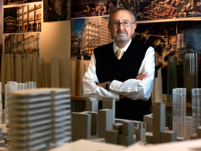 Cesar Pelli. Photo © 2016 Pelli Clarke Pelli Architects