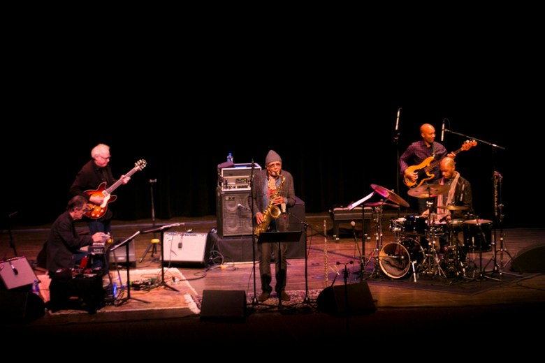 """Charles Lloyd and The Marvels commenced """"Jazz Invocation"""", a series of performances part of 2016 International Music Festival presented by Musical Bridges Around the World. Photo by Kathryn Boyd-Batstone"""