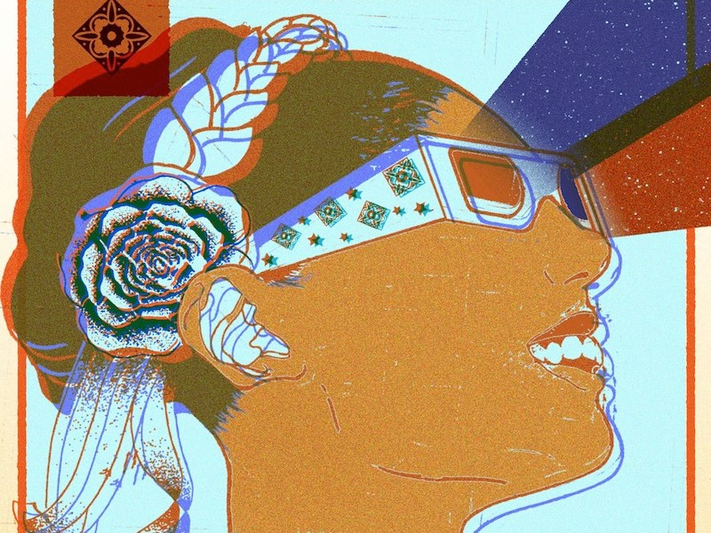 Detail of the 2016 CineFestival poster. Image courtesy of the Guadalupe Cultural Arts Center.