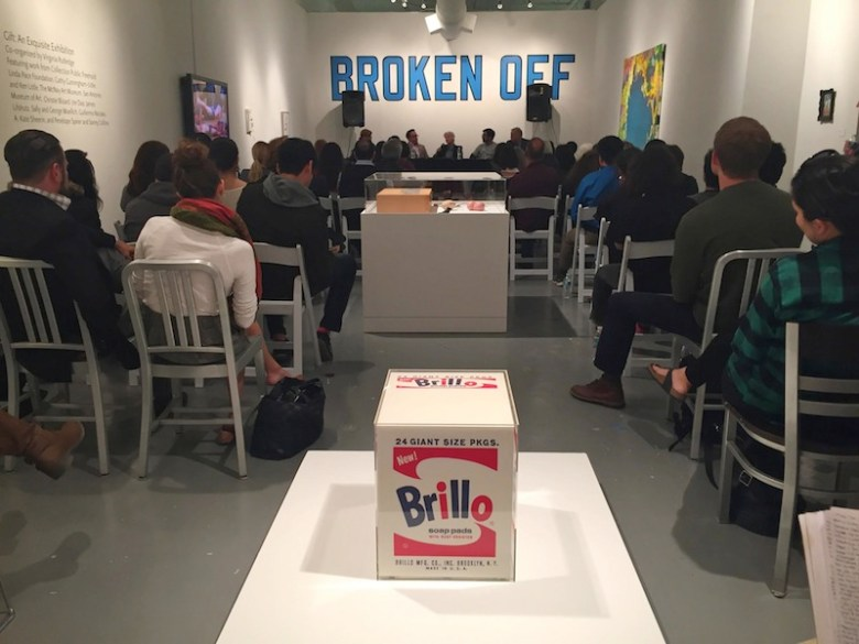 """The first session of Collecting Contemporary Art 101 series """"Why Collect?"""" introduced the audience to the basics of  the local art industry. Photo courtesy of Blue Star Contemporary Art Museum."""