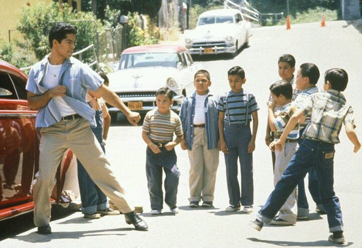"Esai Morales plays ""Chucho"" in the movie ""Mi Familia"" or ""My Family"" (1995)."