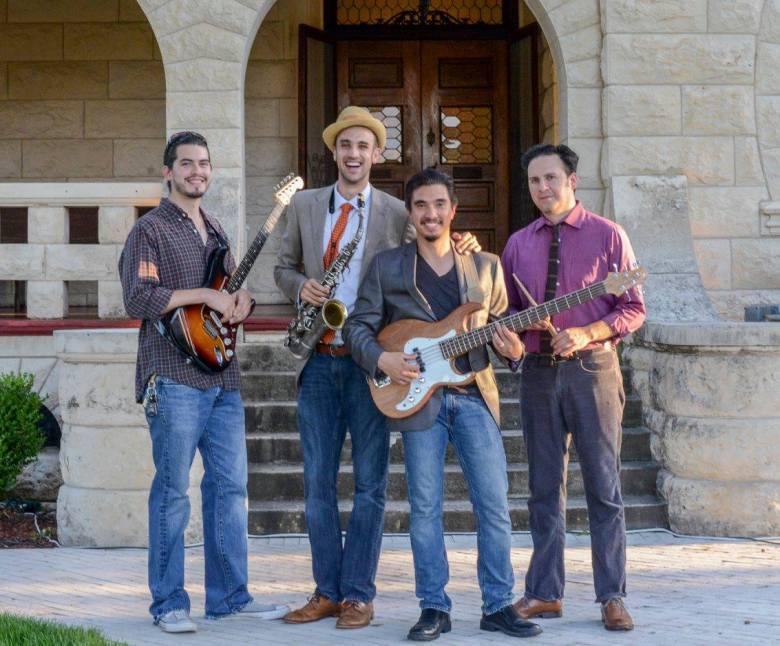 Soulzzafying (left to right): Odie Wallace, Adam Tutor, Rick Spring, John Fernandez. Photo Courtesy of Lana Reed