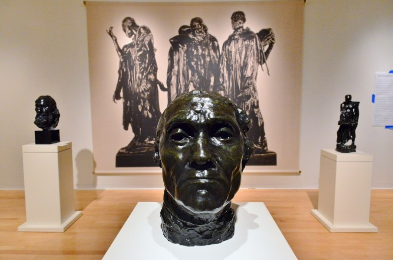 """The Burghers of Calais"" by Auguste Rodin. San Antonio Museum of Art, March 2016. Photo by Page Graham."
