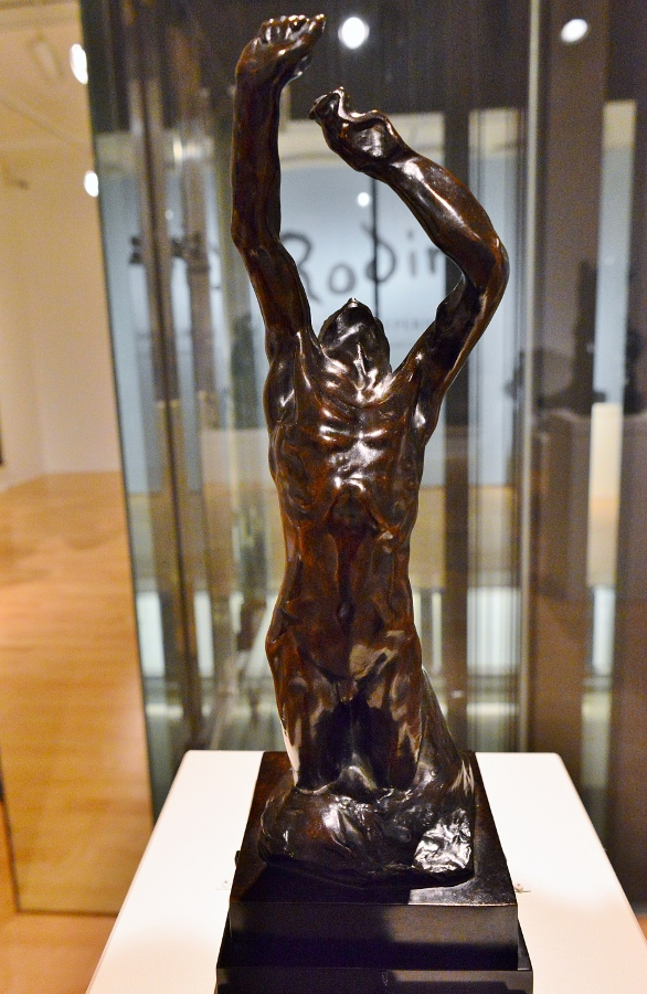 """Rodin: The Human Experience, Selections from the Iris and B.Gerald Cantor Collections."" San Antonio Museum of Art, 2016. Photo by Page Graham."