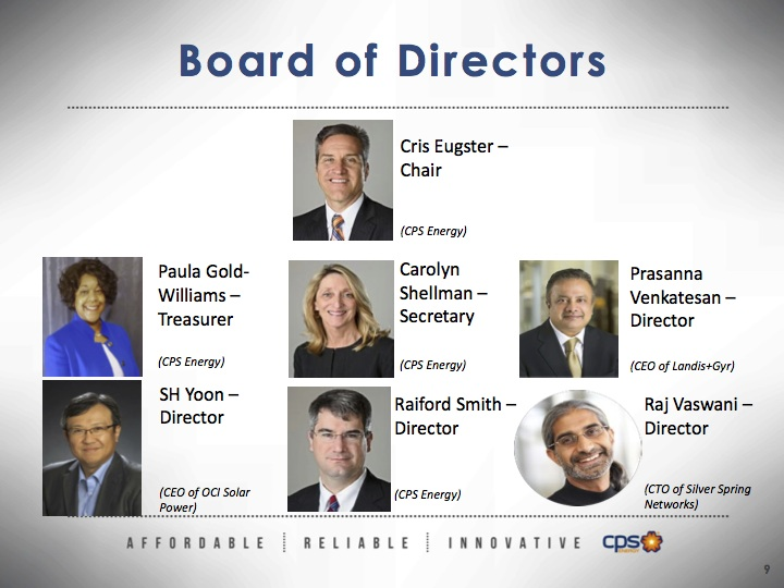 EPIcenter board of directors