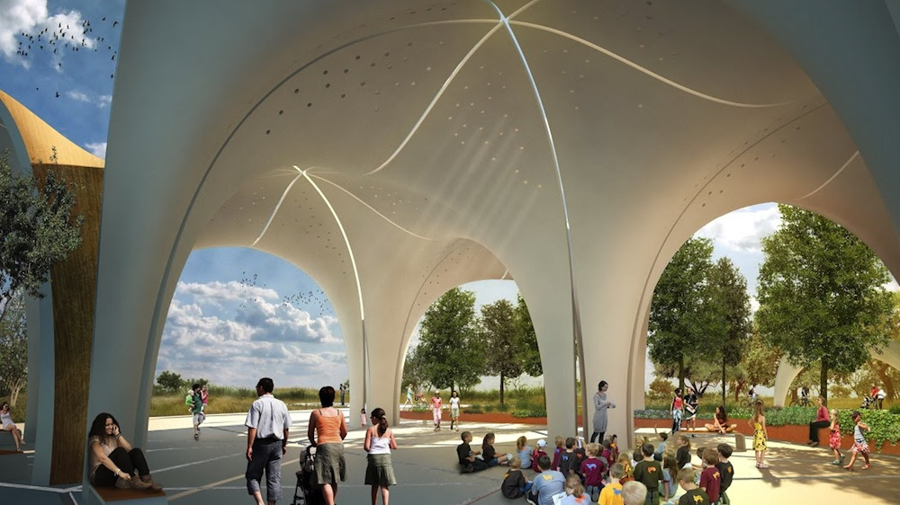 Image courtesy of Lake/Flato Architects and the San Antonio River Foundation.