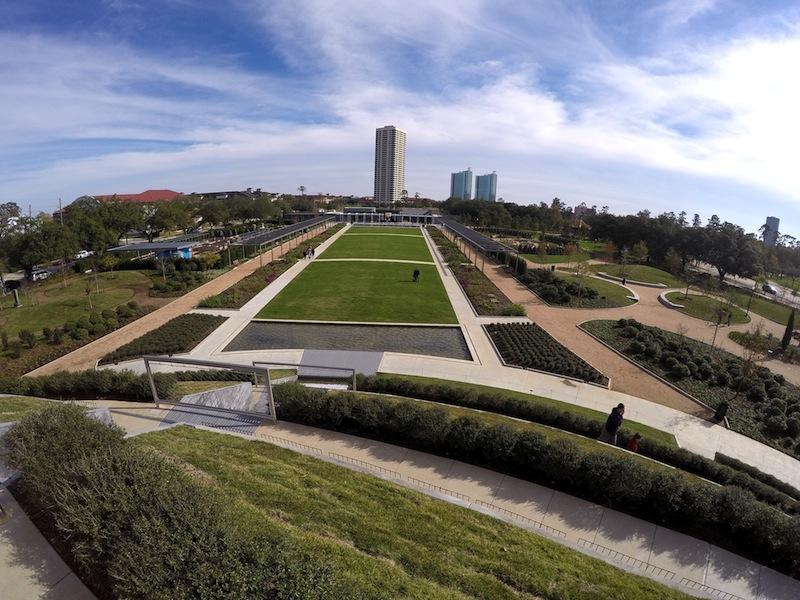 The McGovern Centennial Gardens at Hermann Park. Photo by Flickr user Mario Bo.