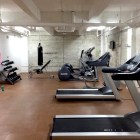 The small gym inside The Peanut Factory Lofts. Photo by Mike Price.