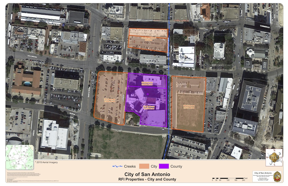 Graphic courtesy of the City of San Antonio.