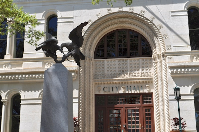 San Antonio City Hall.