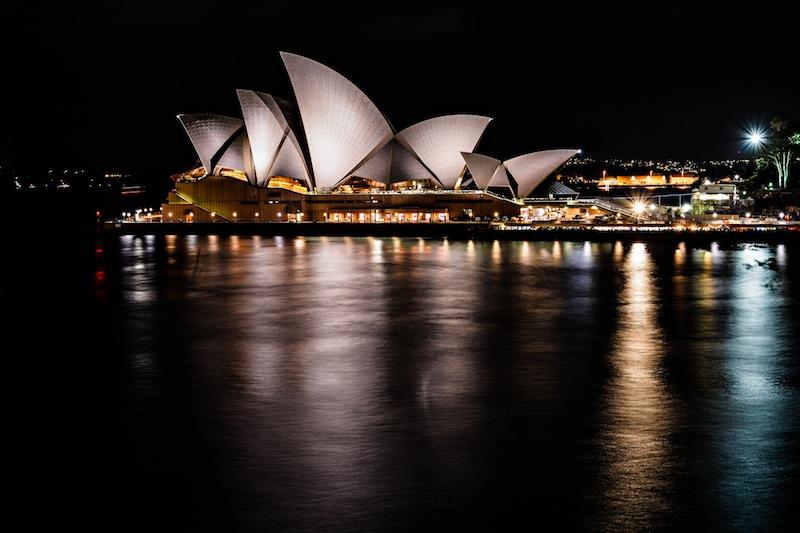 The Sydney Opera House. Photo courtesy of Flickr user Nicki Mannix.