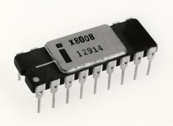 The direct result of the agreement was the eight-bit Intel 8008 processor, the first computer-grade microprocessor chip. Its derivatives were the foundation of the information age. The four-bit Intel 4004, developed at the same time, by chance came out first, but could only run a calculator.