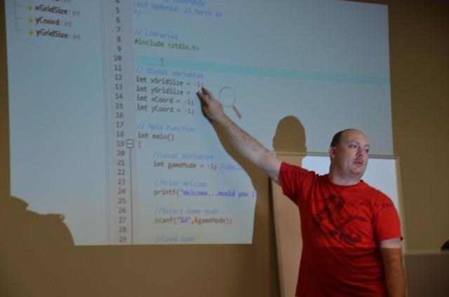 IPSecure mentors local Cyber Patriot teams