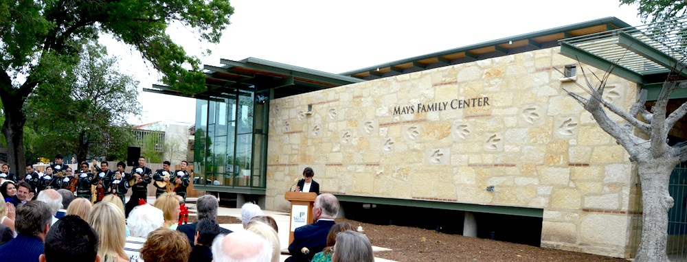 The Mays Family Center will host exhibits, private events, and more. Photo by Lea Thompson