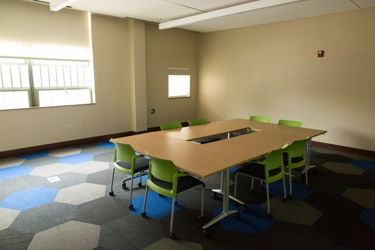 A separate private room is also included in the agreement between Peer1 Hosting and The Iron Yard. Photo by Scott Ball.