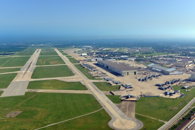 The Port's 1,900-acre campus has a foundation in aerospace and manufacturing. In recent years, cybersecurity has been a top growth industry. Photo courtesy of Port San Antonio.
