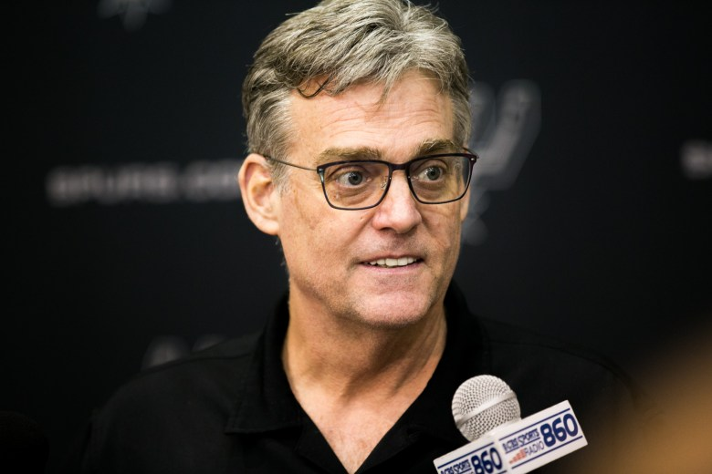 Spurs General Manager RC Buford was named NBA Executive of Year. Photo by Kathryn Boyd-Batstone