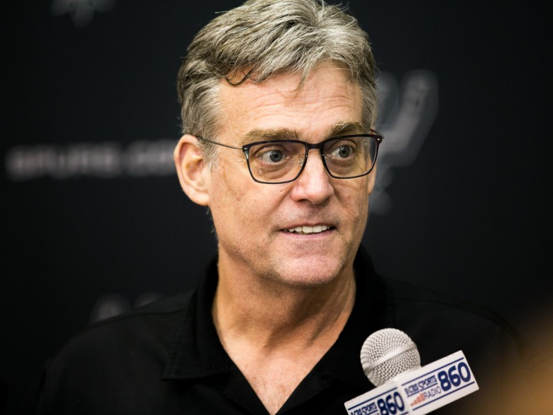 Spurs General Managers RC Buford was named NBA Executive of Year. Photo by Kathryn Boyd-Batstone