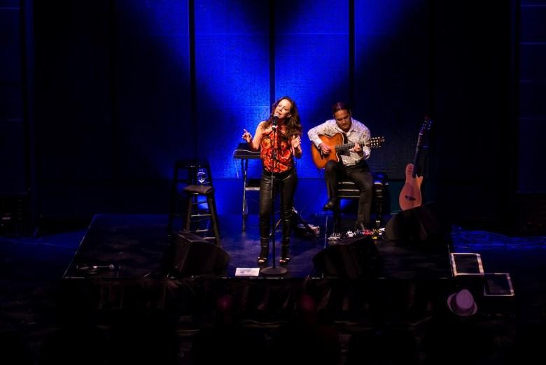 Bebel Gilberto performs at the Carlos Alvarez Theater. Photo by John David Scarcliff Photography.