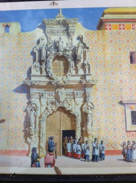 Artist's rendering: Did Mission San José once look like this? Courtesy image.