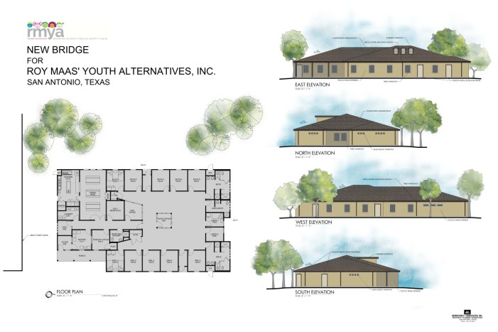 Full rendering for new RMYA emergency youth shelter to be finished in June 2017. Photo courtesy of RMYA.
