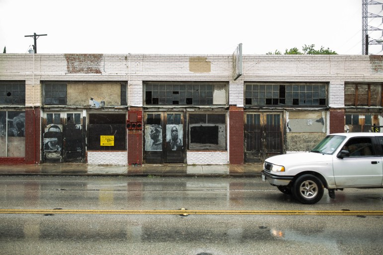 The building on 1302 S. Flores St. Photo by Scott Ball.