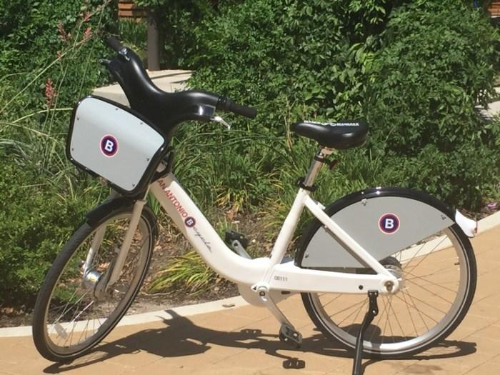 The new 2.0 B-Cycle model. Photo courtesy of San Antonio Bikeshare.