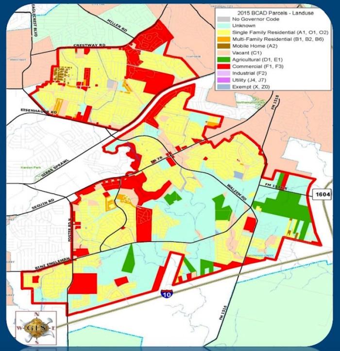 2016 City of San Antonio IH-10 East Proposed Annexation Area. Courtesy of City of San Antonio.
