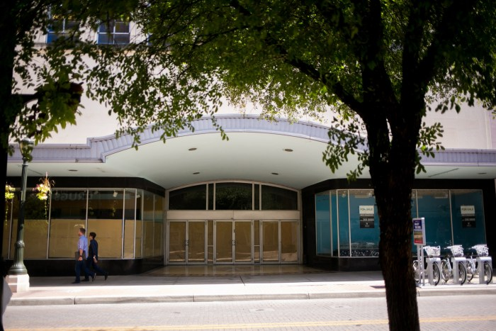 GrayStreet Partners have purchased the former site of the Children's Museum. Photo by Kathryn Boyd-Batstone.