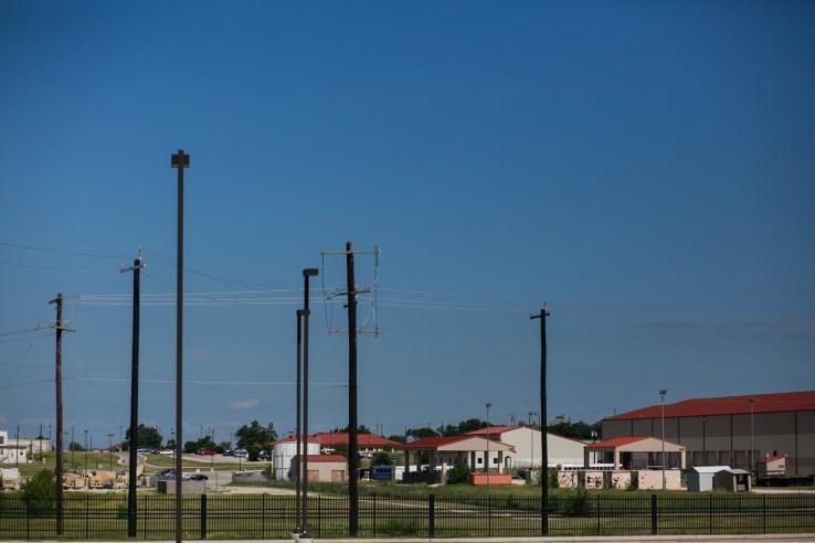 Fort Sam Houston grounds. Photo by Kathryn Boyd-Batstone.