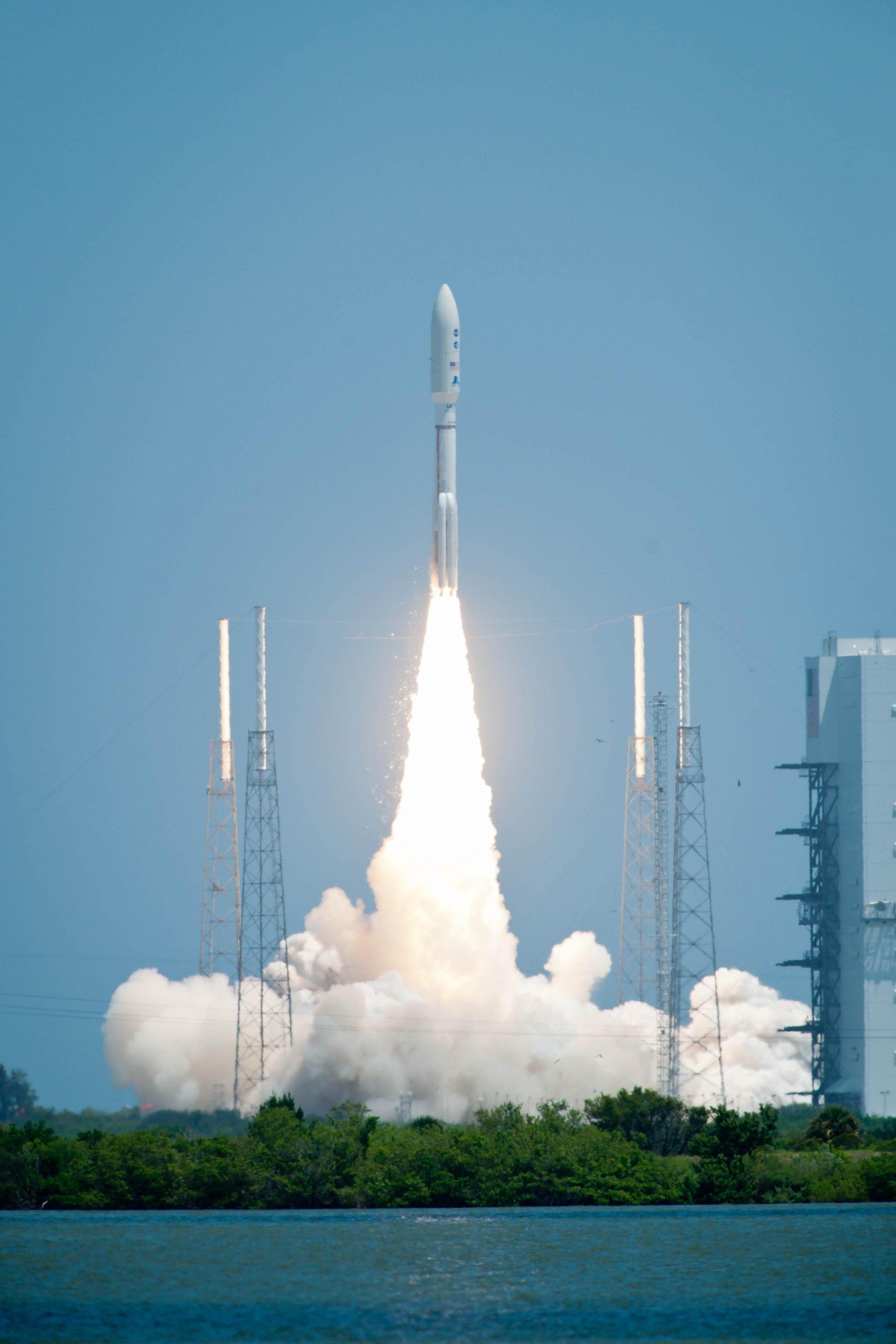 Atlas V Launches with Juno. Photo courtesy of NASA