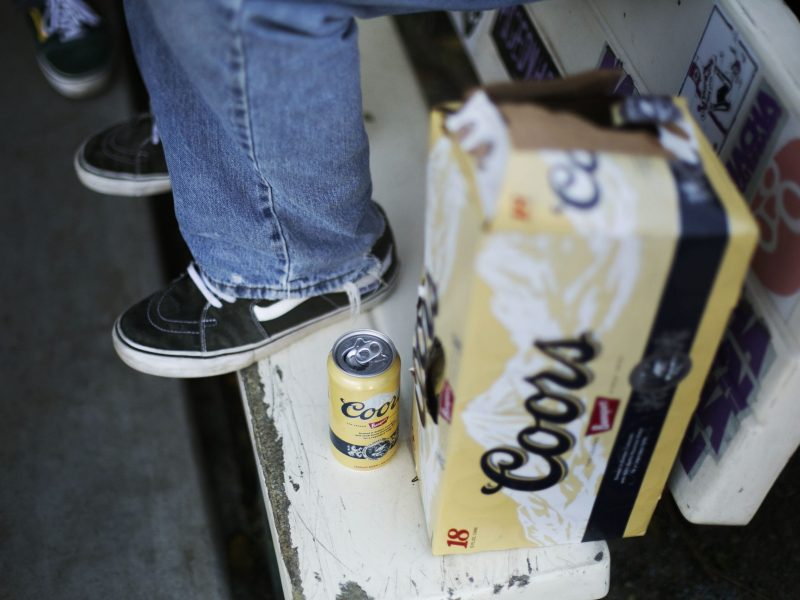 Other cities around the United States have passed social host ordinances to combat the underage drinking problem. Photo by Kathryn Boyd-Batstone.