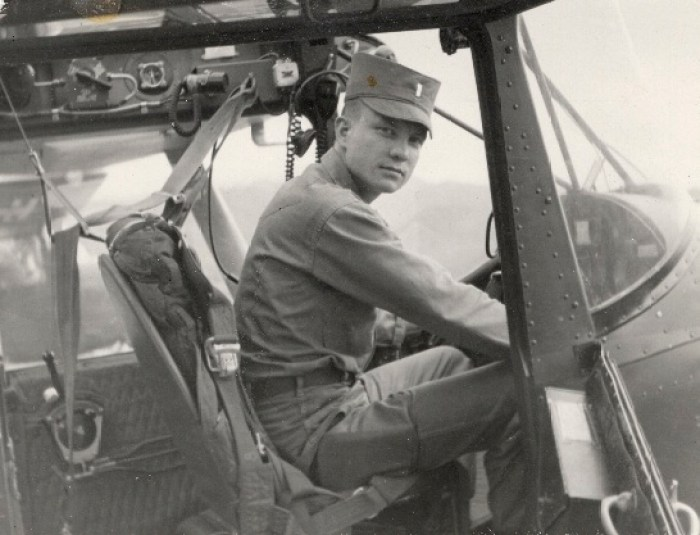 Maj. Charles Kettles rescued eight infantrymen mistakenly left behind after a Viet Cong ambush near Duc Pho during the Vietnam War.  Photo courtesy of Michigan Guard.