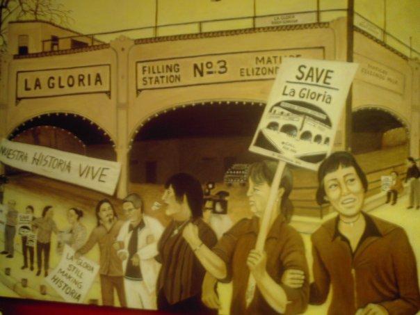 """Save la Gloria"" by Mary Agnes Rodriguez. Photo courtesy of Maria Ines Rodriguez."