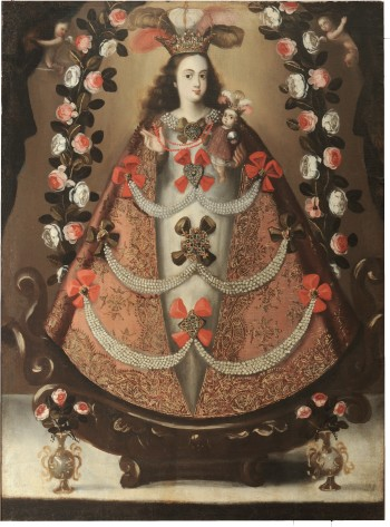 """""""Our Lady of the Rosary of Pomata."""" Image courtesy of the San Antonio Museum of Art."""
