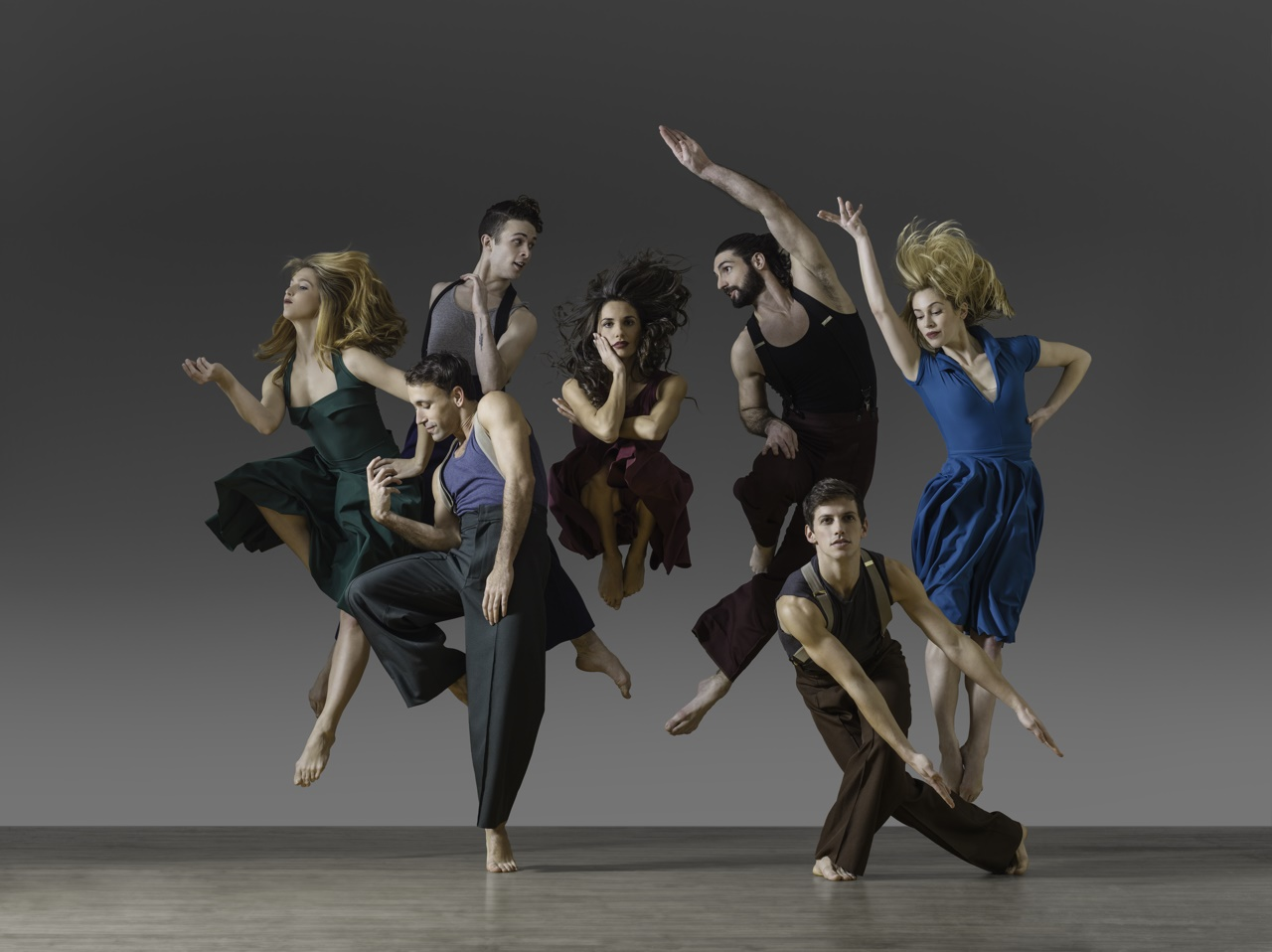 The Tobin Center will offer its first sensory friendly performance by the Parsons Dance Company. Photo credit: Parsons Dance Company.