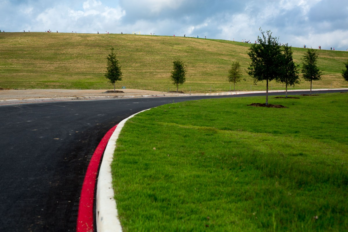 Green fields and hills that go on as far as the eye can see make up just a portion of Pearsall Park. Photo by Scott Ball.