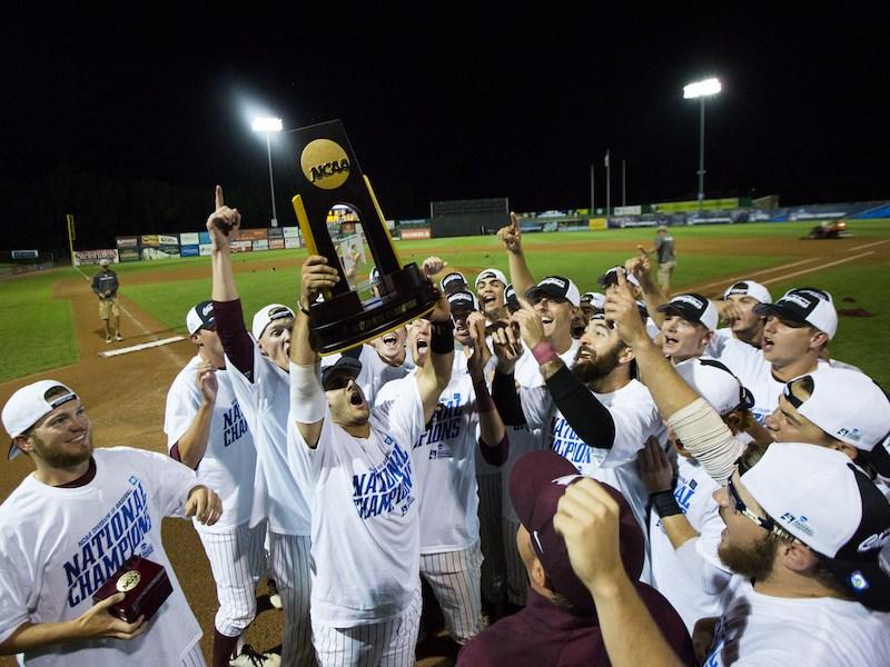 Trinity University Tigers win the NCAA Div III Championship. Courtesy of Trinity University.