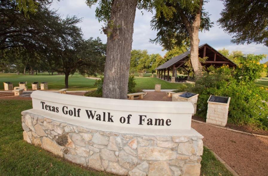 The Texas Golf Walk of Fame in Brackenridge Golf Course. Photo by Gary Perkins.