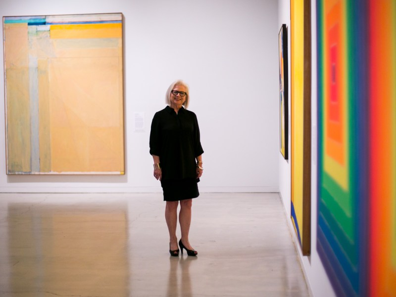 San Antonio Museum of Art's new curator of Contemporary and Modern Art Suzanne Weaver. Photo by Kathryn Boyd-Batstone.